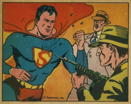 1940 Gum, Inc. Superman   #6 Non-Sports Card