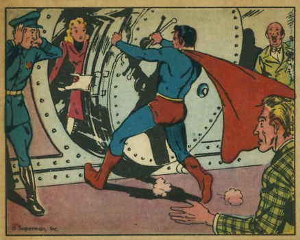 1940 Gum, Inc. Superman   #8 Non-Sports Card