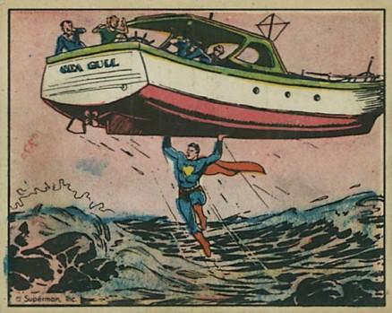 1940 Gum, Inc. Superman   #10 Non-Sports Card