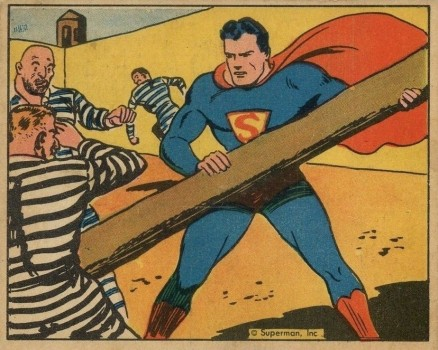 1940 Gum, Inc. Superman   #18 Non-Sports Card