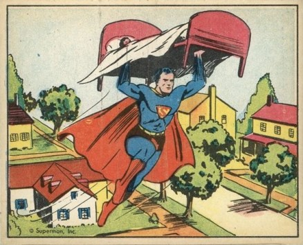 1940 Gum, Inc. Superman   #19 Non-Sports Card