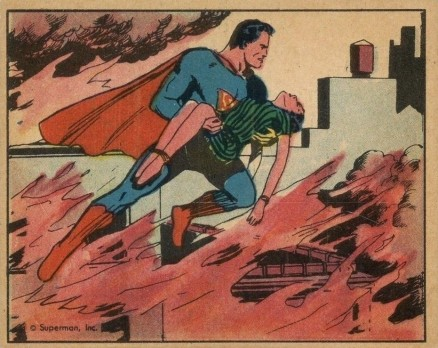 1940 Gum, Inc. Superman   #28 Non-Sports Card