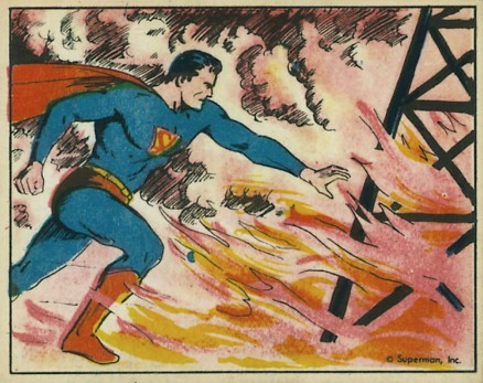 1940 Gum, Inc. Superman   #34 Non-Sports Card