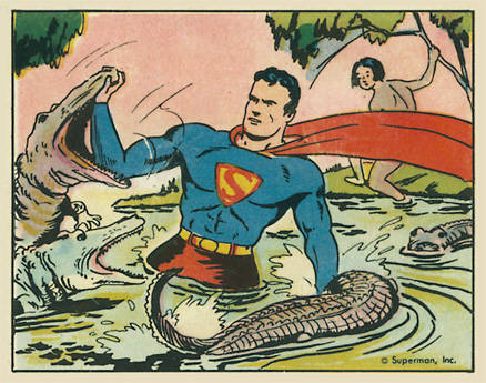 1940 Gum, Inc. Superman   #46 Non-Sports Card