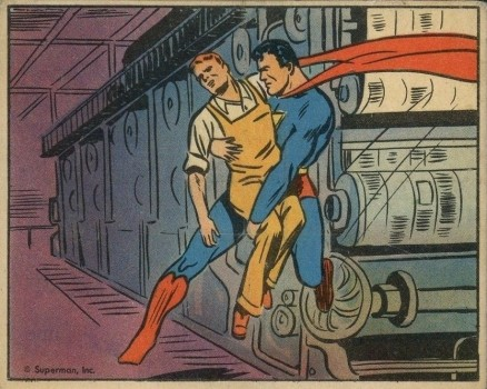 1940 Gum, Inc. Superman   #62 Non-Sports Card