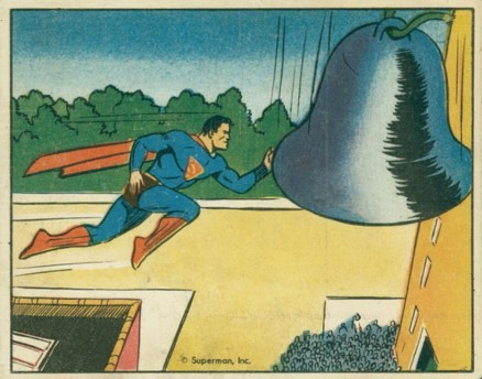 1940 Gum, Inc. Superman   #63 Non-Sports Card
