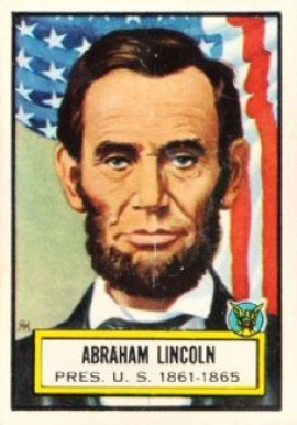 1952 Topps Look 'N See Abraham Lincoln #4 Non-Sports Card