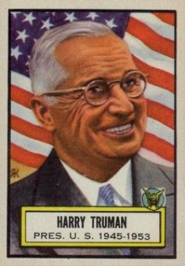 1952 Topps Look 'N See Harry Truman #5 Non-Sports Card