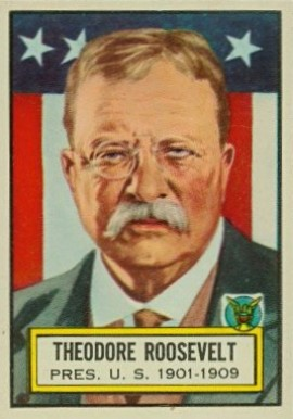 1952 Topps Look 'N See Theodore Roosevelt #6 Non-Sports Card