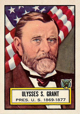 1952 Topps Look 'N See Ulysses Grant #7 Non-Sports Card