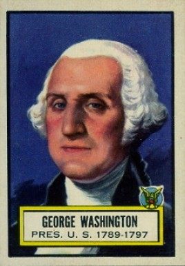 1952 Topps Look 'N See George Washington #9 Non-Sports Card
