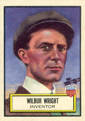 1952 Topps Look 'N See Wilbur Wright #13 Non-Sports Card