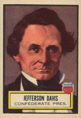 1952 Topps Look 'N See Jefferson Davis #14 Non-Sports Card