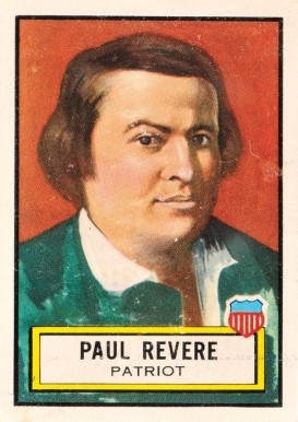 1952 Topps Look 'N See Paul Revere #16 Non-Sports Card
