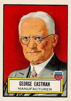 1952 Topps Look 'N See George Eastman #25 Non-Sports Card