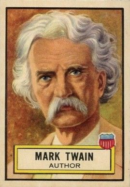 1952 Topps Look 'N See Mark Twain #29 Non-Sports Card