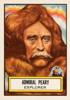 1952 Topps Look 'N See Admiral Peary #47 Non-Sports Card