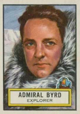1952 Topps Look 'N See Admiral Byrd #50 Non-Sports Card