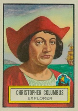 1952 Topps Look 'N See Christopher Columbus #51 Non-Sports Card