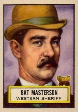 1952 Topps Look 'N See Bat Masterson #62 Non-Sports Card