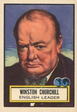 1952 Topps Look 'N See Winston Churchill #64 Non-Sports Card