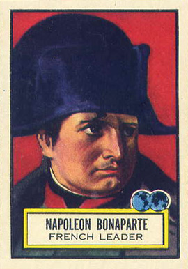 1952 Topps Look 'N See Napoleon Bonaparte #67 Non-Sports Card