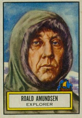 1952 Topps Look 'N See Roald Amundsen #88 Non-Sports Card
