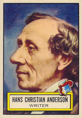 1952 Topps Look 'N See Hans Christian Anderson #89 Non-Sports Card