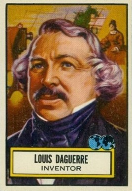 1952 Topps Look 'N See Louis Daguerre #92 Non-Sports Card
