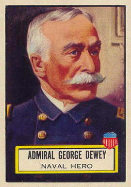 1952 Topps Look 'N See George Dewey #93 Non-Sports Card