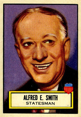 1952 Topps Look 'N See Alfred E. Smith #95 Non-Sports Card