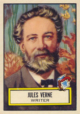 1952 Topps Look 'N See Jules Verne #97 Non-Sports Card