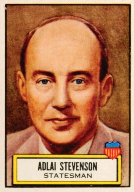 1952 Topps Look 'N See Adlai Stevenson #98 Non-Sports Card