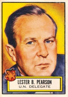 1952 Topps Look 'N See Lester B. Pearson #99 Non-Sports Card