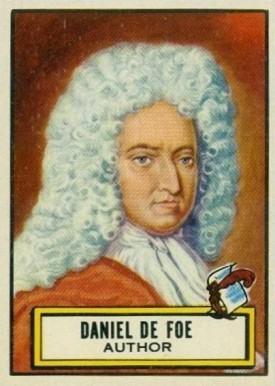 1952 Topps Look 'N See Daniel DeFoe #101 Non-Sports Card