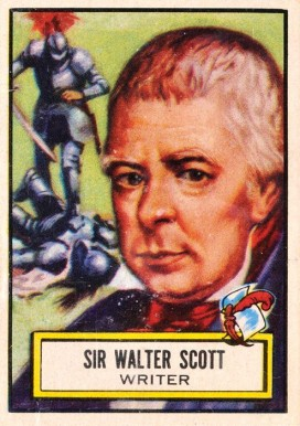 1952 Topps Look 'N See Sir Walter Scott #113 Non-Sports Card