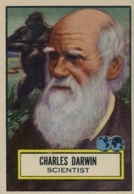 1952 Topps Look 'N See Charles Darwin #124 Non-Sports Card