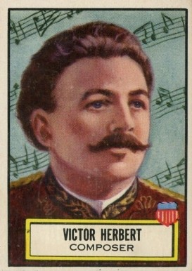 1952 Topps Look 'N See Victor Herbert #130 Non-Sports Card