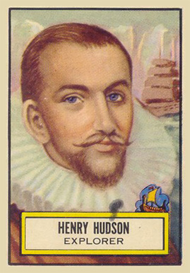 1952 Topps Look 'N See Henry Hudson #131 Non-Sports Card