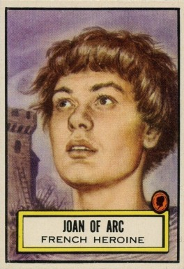 1952 Topps Look 'N See  Joan Of Arc #133 Non-Sports Card