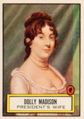 1952 Topps Look 'N See Dolly Madison #135 Non-Sports Card
