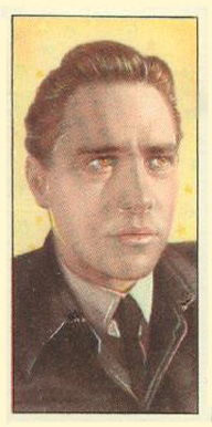 1955 Barbers Tea Cinema & TV Stars Richard Todd #23 Non-Sports Card