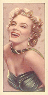 1955 Barbers Tea Cinema & TV Stars Marilyn Monroe #24 Non-Sports Card