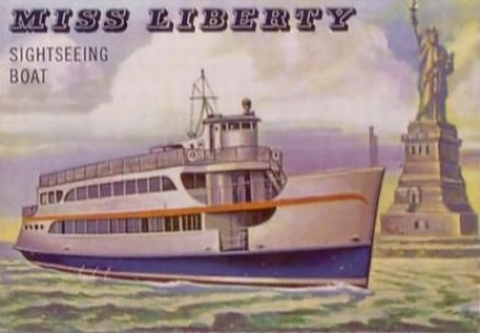 1955 Topps Rails & Sails Miss Liberty #175 Non-Sports Card