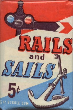 1955 Topps Rails & Sails  Wax Pack  #WP5 Non-Sports Card