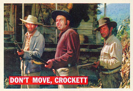 1956 Topps Davy Crockett (Orange Backs)   #36 Non-Sports Card