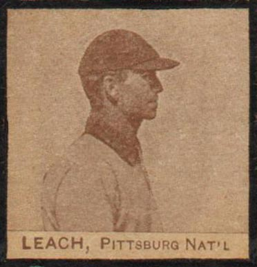 1909 W555 Strip Card Tommy Leach #43 Baseball Card