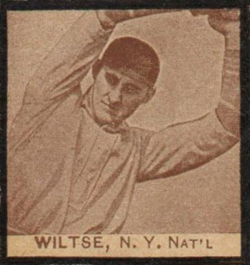 1909 W555 Strip Card Hooks Wiltse #63 Baseball Card