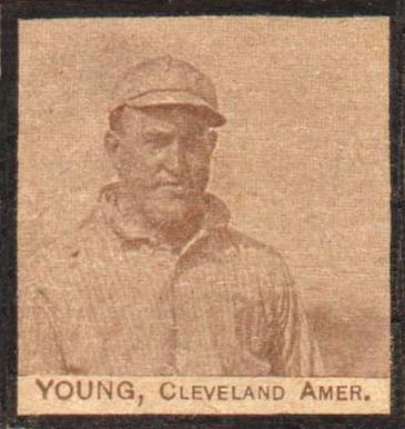 1909 W555 Strip Card Cy Young #65 Baseball Card