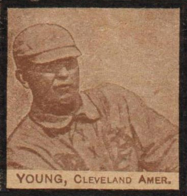 1909 W555 Strip Card Cy Young #66 Baseball Card